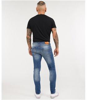 Rock Creek Herren Jeans Slim Fit Blau RC-2162