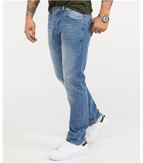Rock Creek Herren Jeans Comfort Fit Dunkelblau RC-3101