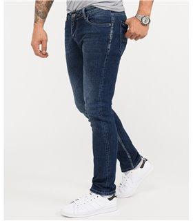 Rock Creek Herren Jeans Slim Fit Blau RC-2345