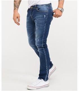Rock Creek Herren Jeans Slim Fit Blau RC-2342