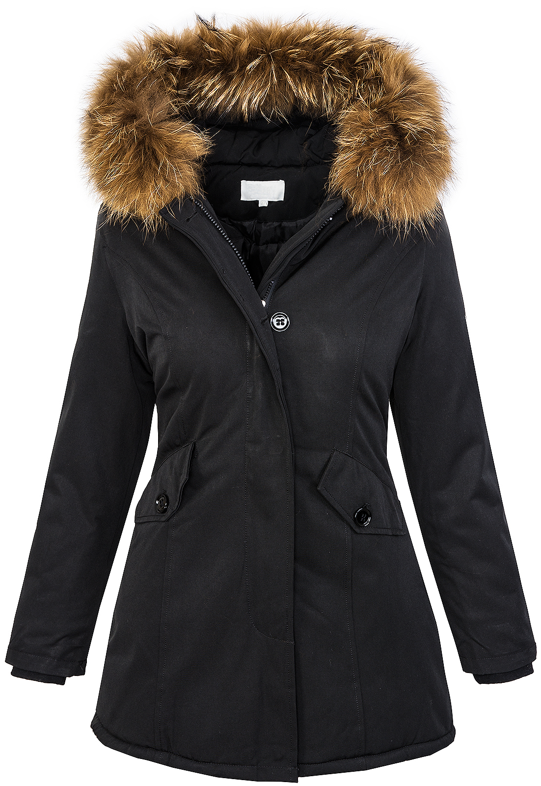 damen designer winter jacke parka outdoor jacke damenjacke. Black Bedroom Furniture Sets. Home Design Ideas