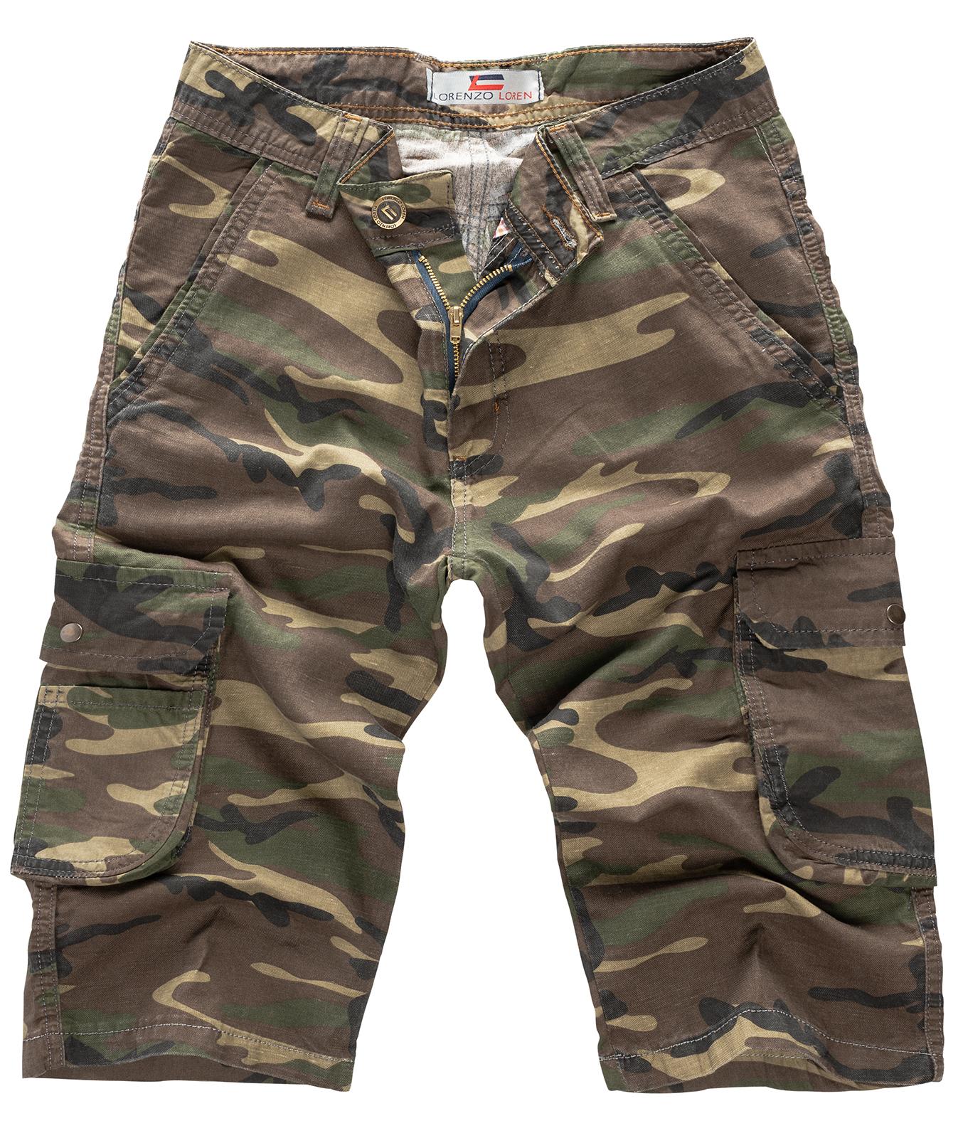 rock creek herren bermuda hosen army hose shorts jeans kurze hose camouflage m5 ebay. Black Bedroom Furniture Sets. Home Design Ideas