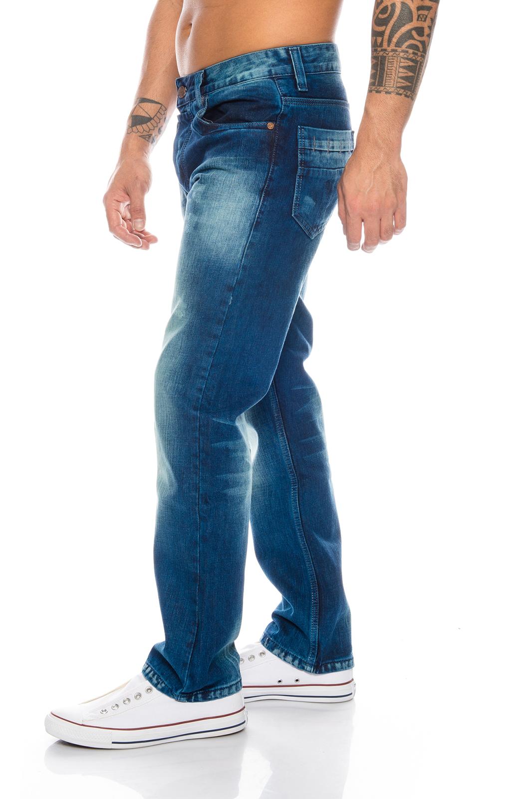Rock-Creek Herren Jeans Cargo Style Stone Washed Clubwear Hose W30 ... 5481557975