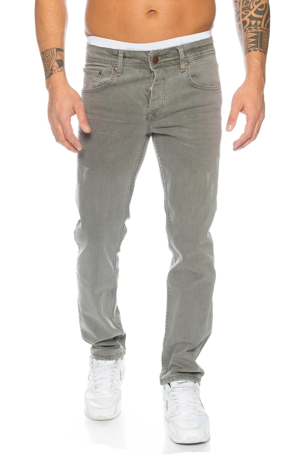 Details zu Rock Creek Herren Jeans Hose Grau Stretch Jeans Denim Raw W29 W44 RC 2097 NEU