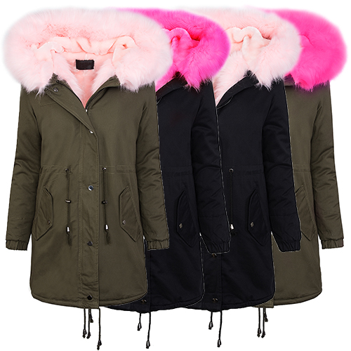 Mantel fellkragen