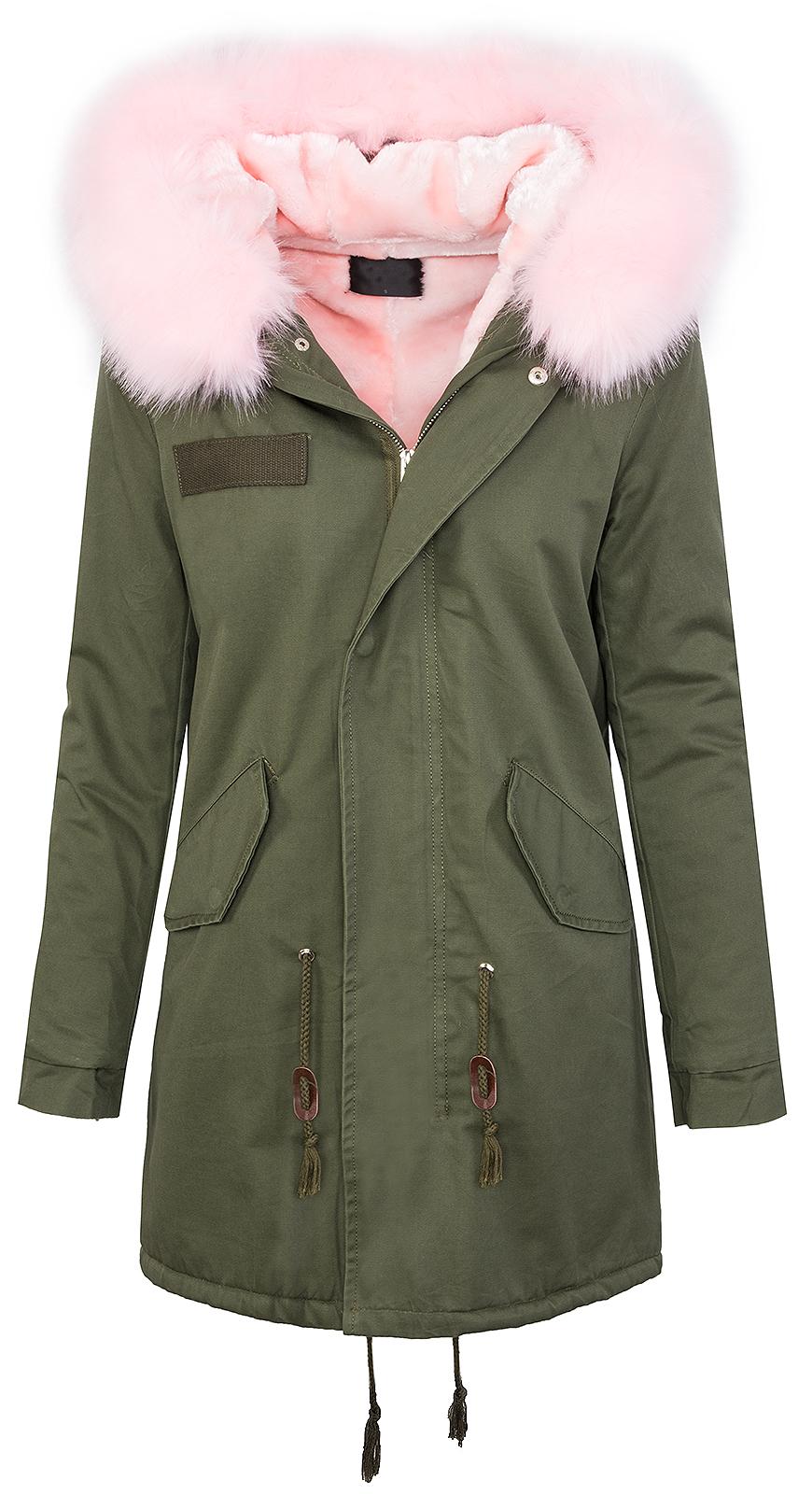 08f8964bb7cd Designer parka damen jacke outdoor jacke wintermantel grün khaki D ...