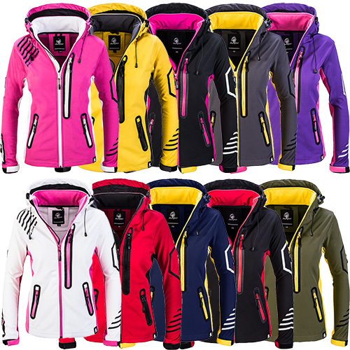 Show Original Jacket Womens D About Title Rock Creek Softshell Rain Windbreaker Details 402 q54ARjc3L