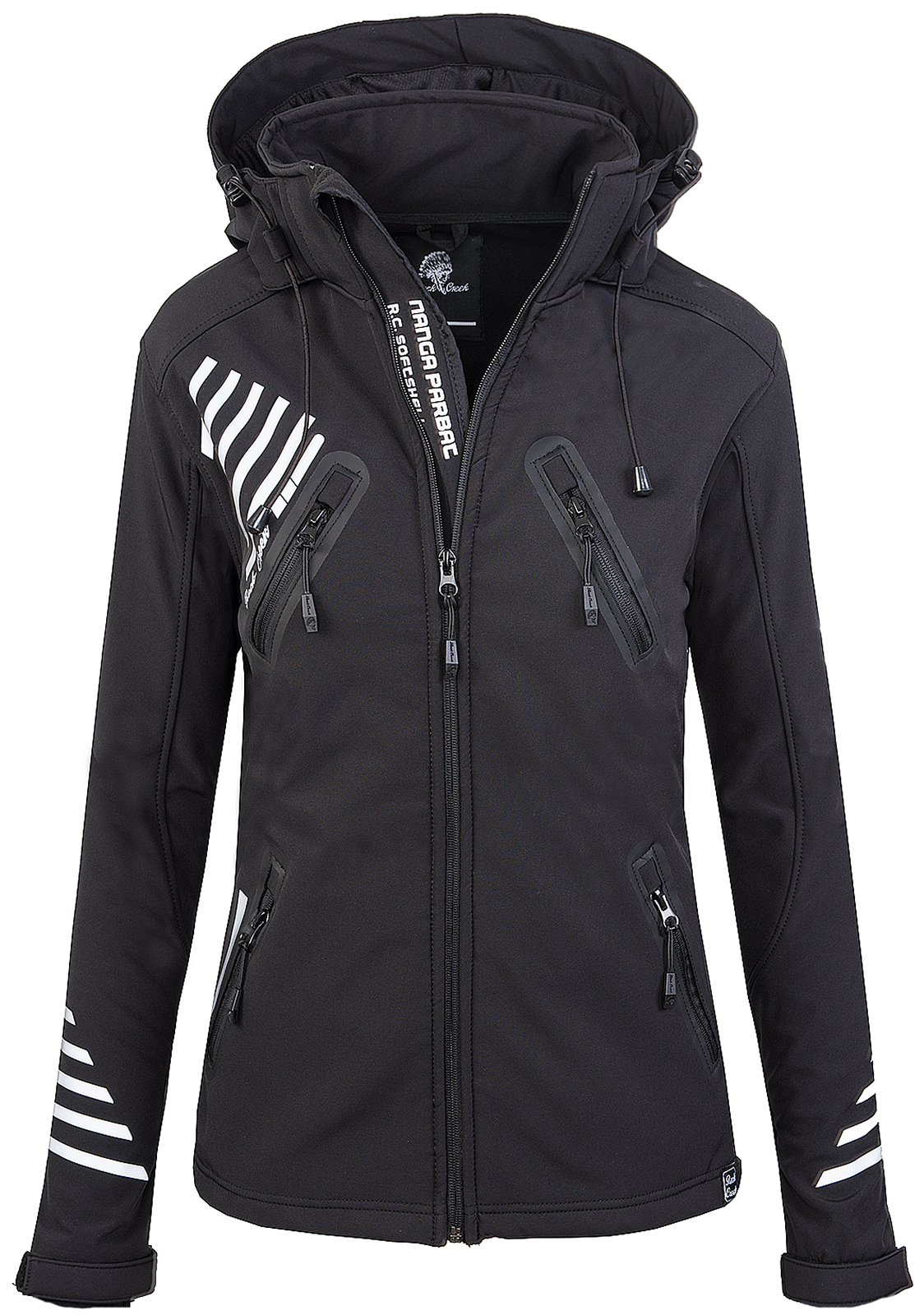 rock creek damen softshell jacke outdoorjacke windbreaker bergangs jacke d 390 ebay. Black Bedroom Furniture Sets. Home Design Ideas